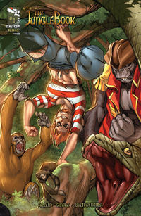 Cover Thumbnail for Grimm Fairy Tales Presents The Jungle Book (Zenescope Entertainment, 2012 series) #1 [Cover D by Ale Garza & Nei Ruffino]