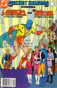 Cover for Secret Origins (DC, 1986 series) #25 [Direct]
