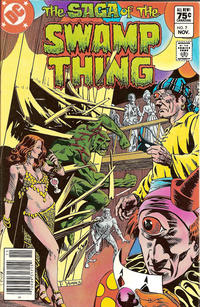 Cover for The Saga of Swamp Thing (DC, 1982 series) #7 [Direct]