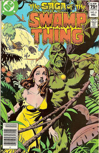 Cover Thumbnail for The Saga of Swamp Thing (DC, 1982 series) #8 [Canadian Price Variant]