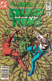 Cover Thumbnail for The Saga of Swamp Thing (DC, 1982 series) #10 [Canadian price variant]