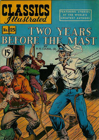 Cover Thumbnail for Classics Illustrated (Gilberton, 1948 series) #25