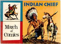 Cover Thumbnail for March of Comics (Western, 1946 series) #140 [Cover Color Variant]