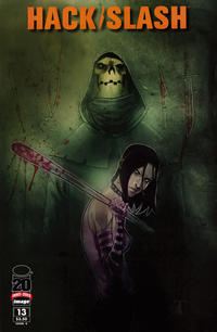 Cover Thumbnail for Hack/Slash (Image, 2011 series) #13 [Cover B]