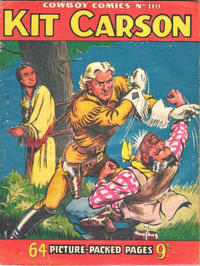 Cover for Cowboy Comics (Amalgamated Press, 1950 series) #110