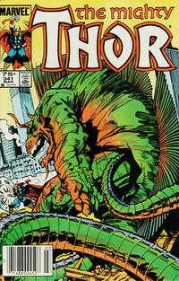 Cover Thumbnail for Thor (Marvel, 1966 series) #341 [Canadian variant]