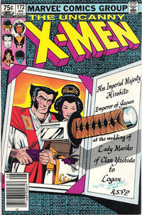 Cover Thumbnail for The Uncanny X-Men (Marvel, 1981 series) #172 [Canadian Newsstand Edition]
