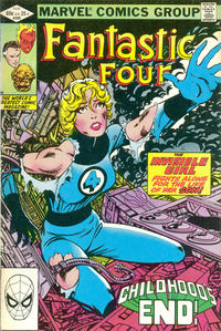 Cover Thumbnail for Fantastic Four (Marvel, 1961 series) #245 [Direct Edition]