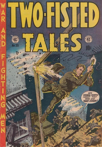 Cover for Two-Fisted Tales (Superior Publishers Limited, 1950 series) #33