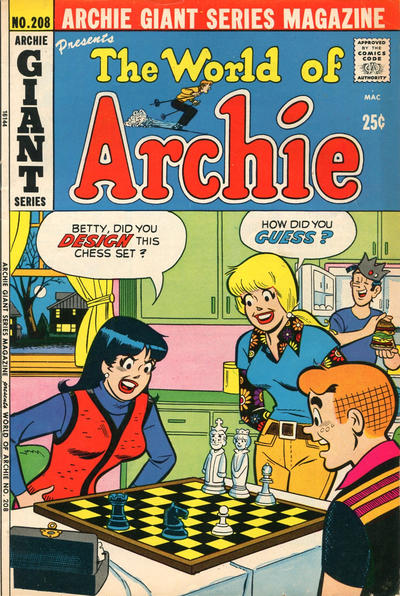 Cover for Archie Giant Series Magazine (Archie, 1954 series) #208