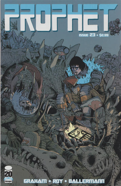 Cover for Prophet (2012 series) #23