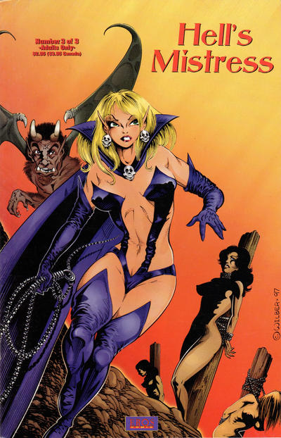 Cover for Hell's Mistress (Fantagraphics, 1997 ? series) #3