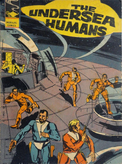 Cover for Indrajal Comics (Bennet, Coleman & Co., 1964 series) #314