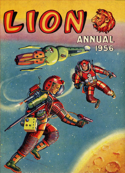 Cover for Lion Annual (Fleetway Publications, 1954 series) #1956