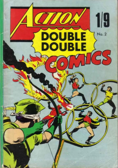 Cover for Action Double Double Comics (Thorpe & Porter, 1967 series) #2