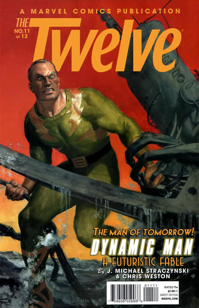 Cover for The Twelve (Marvel, 2008 series) #11