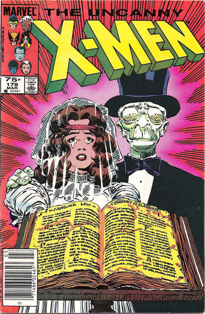 Cover for The Uncanny X-Men (1981 series) #179
