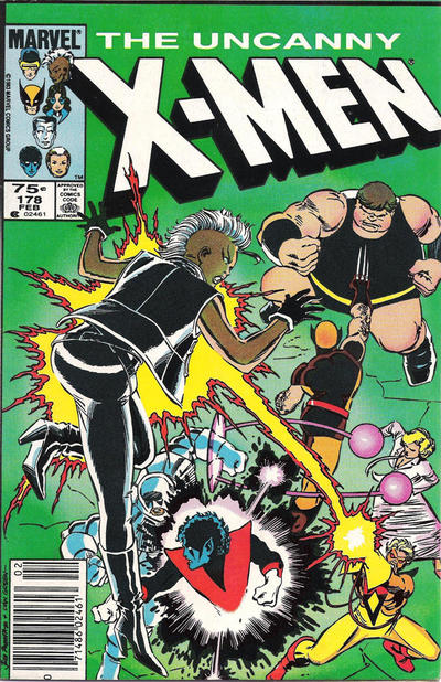 Cover for The Uncanny X-Men (1981 series) #178 [Direct Edition]
