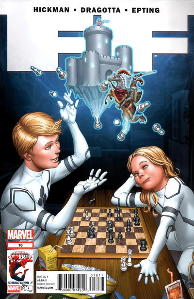 Cover for FF (2011 series) #16