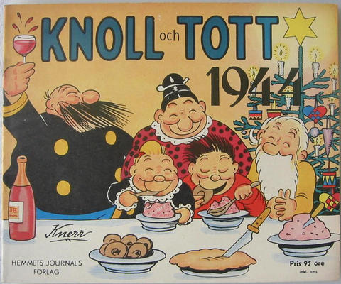 Cover for Knoll och Tott (1928 series) #1944