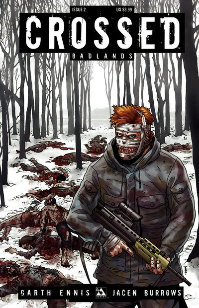 Cover for Crossed Badlands (Avatar Press, 2012 series) #2 [Regular Cover - Jacen Burrows]