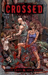 Cover Thumbnail for Crossed Badlands (Avatar Press, 2012 series) #2 [Torture Cover - Gianluca Pagliarani]