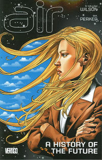 Cover Thumbnail for Air (DC, 2009 series) #4 - A History of the Future