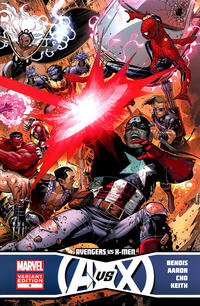 Cover Thumbnail for Avengers vs. X-Men (Marvel, 2012 series) #0 [Variant Wraparound Cover by Jim Cheung]