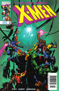 Cover Thumbnail for The Uncanny X-Men (Marvel, 1981 series) #370 [Newsstand Edition]