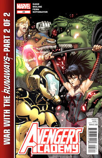 Cover Thumbnail for Avengers Academy (Marvel, 2010 series) #28