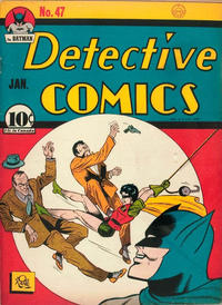 "Cover Thumbnail for Detective Comics (DC, 1937 series) #47 [""15 cents in Canada"" under price box]"