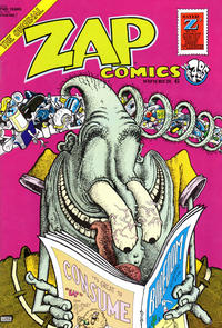 Cover Thumbnail for Zap Comix (Apex Novelties, 1967 series) #6 [7th print 4.95 USD]