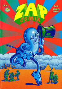 Cover Thumbnail for Zap Comix (Apex Novelties, 1967 series) #4 [9th print 3.95 USD]