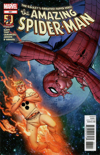 Cover for The Amazing Spider-Man (Marvel, 1999 series) #681