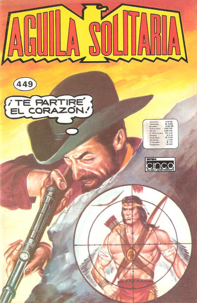 Cover for Aguila Solitaria (Editora Cinco, 1976 ? series) #449
