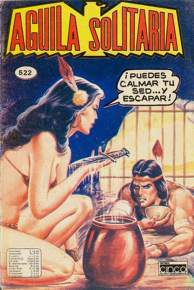 Cover for Aguila Solitaria (Editora Cinco, 1976 ? series) #522
