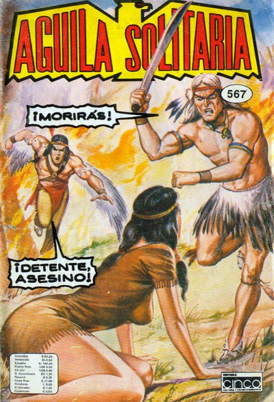 Cover for Aguila Solitaria (Editora Cinco, 1976 ? series) #567