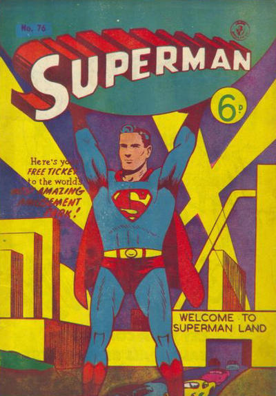 Cover for Superman (1947 series) #76