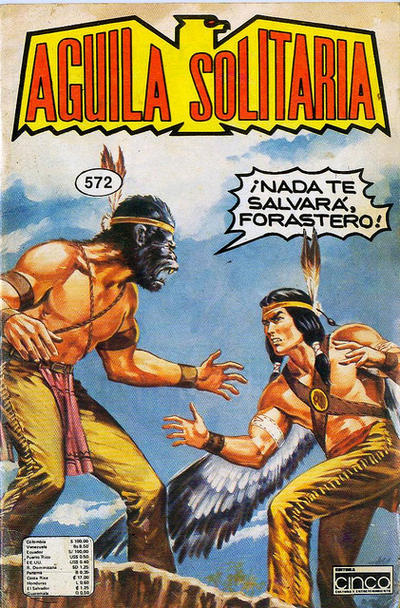 Cover for Aguila Solitaria (1976 ? series) #572
