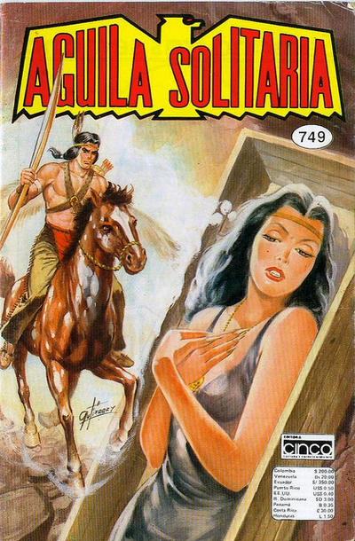 Cover for Aguila Solitaria (1976 ? series) #749