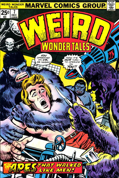 Cover for Weird Wonder Tales (1973 series) #7