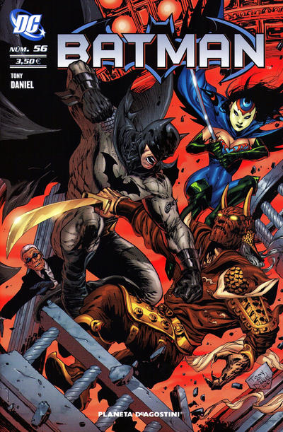 Cover for Batman (2007 series) #56
