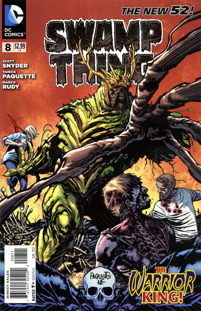 Cover for Swamp Thing (2011 series) #8