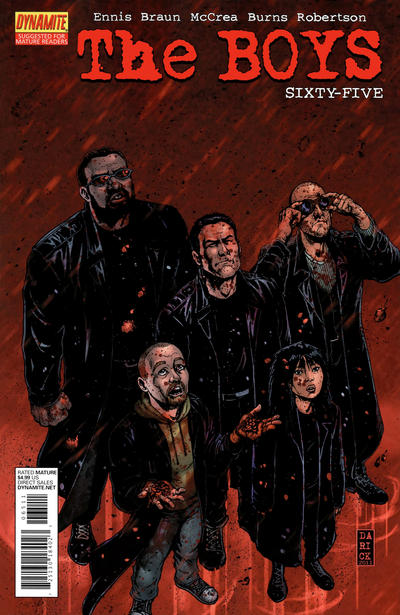 Cover for The Boys (Dynamite Entertainment, 2007 series) #65
