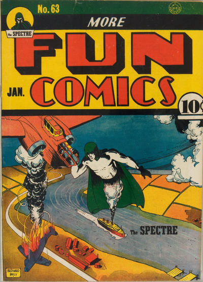 Cover for More Fun Comics (DC, 1936 series) #63