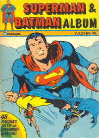 Cover Thumbnail for Superman & Batman Album (Classics/Williams, 1974 series)