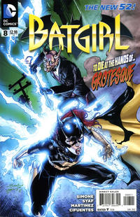 Cover Thumbnail for Batgirl (DC, 2011 series) #8