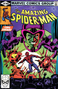 Cover Thumbnail for The Amazing Spider-Man (Marvel, 1963 series) #207 [Direct Edition]
