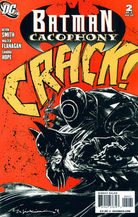 Cover Thumbnail for Batman Cacophony (DC, 2009 series) #2 [Cover B - Variant Cover]