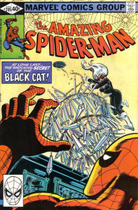Cover Thumbnail for The Amazing Spider-Man (Marvel, 1963 series) #205 [Direct Edition]
